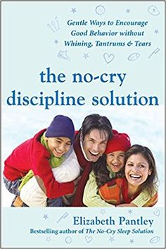 The No-Cry Discipline Solution: Gentle Ways to Encourage Good Behavior Without Whining, Tantrums, and Tears: Foreword by Tim Seldin (Pantley): Elizabeth Pantley: 9780071471596: Amazon.com: Books