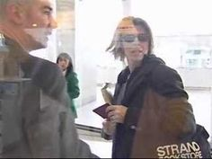 David Bowie Paris Arrival 1999