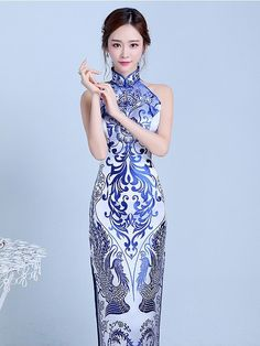 #Cheongsam Prom Dress Copy Now