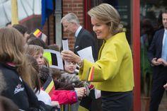 Queen Mathilde of Belgium Photos: Belgian Royals Visit Namur