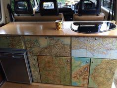 VW Bus Expansion DIY And Ideas For You 31 You want to expand your camper? Vw T4 Camper, Camper Life, Camper Van, T4 Vw, Sprinter Camper, Volkswagen Transporter, Mercedes Sprinter, Campervan Curtains, Hymer