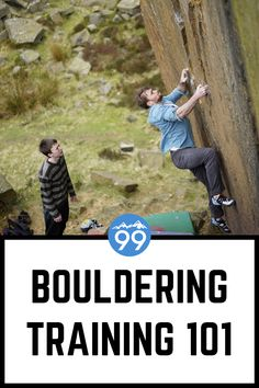 Our ultra-popular bouldering training guide for beginners! We include our hand-picked workouts, exercises, and training programs to help you get STRONG! Learn how to boulder better with simple tips fo Base Jumping, Bungee Jumping, Rock Climbing Workout, Wall Workout, Indoor Climbing, Famous Last Words, Shoulder Workout, Design Quotes, Training Programs