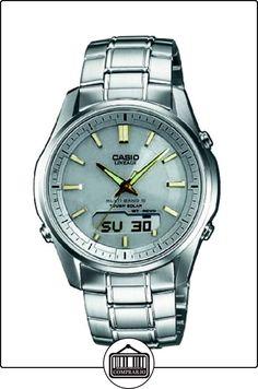 Casio Wave Ceptor LCW-M100DSE-7A2ER - Reloj analógico - digital de cuarzo para hombre, correa de acero inoxidable color plateado de  ✿ Relojes para hombre - (Gama media/alta) ✿