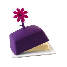 Butter Dish in Violet.