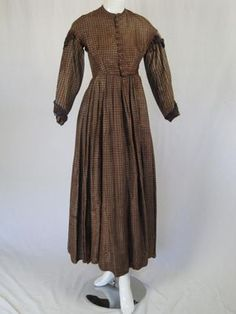 All The Pretty Dresses: Lovely SImple American Civil War Era Day Dress - Visit to grab an amazing super hero shirt now on sale!