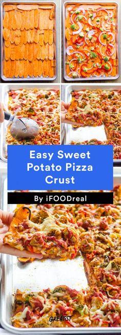 3. Easy Sweet Potato Pizza Crust