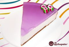 Tarta de queso con cobertura de Violetas. Receta paso a paso. Sweet Cooking, Cheesecakes, Yummy Cakes, Pudding, Desserts, Food, Frosting, Cheesecake, Dessert Recipes