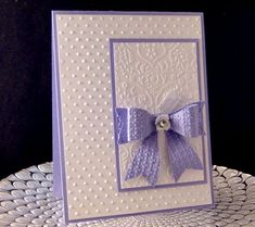 Image result for how to emboss an envelope with an embossing folder