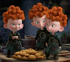 Day 7: Favourite Sidekicks-Brave triplets