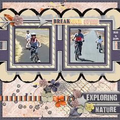 Feeling Artsy template by LissyKay Designs Pedal to the Metal by Seatrout Scraps