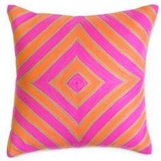 Jonathan Adler Throw Pillow Jaipur Diamond JA24723