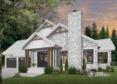 Détail du plan de Maison unifamiliale W3285