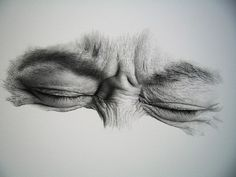 eye drawing by  kim ji-hoon
