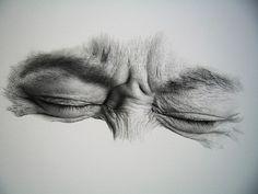 eye drawing by kim ji-hoon