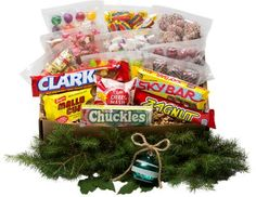 Make the holidays even sweeter with our sweet tooth gift box. Ready to give, this retro candy assortment features 15 candy counter favorites.