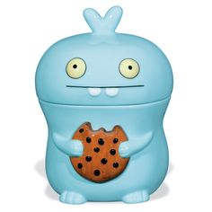 next time you come over we'll have a cookie! Uglydoll Babo ceramic cookie jar by David Horvath & Sun Min Kim