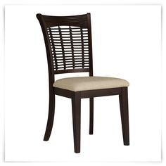 bayberry dark tone side chair