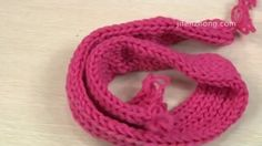 How To Knit a Scarf9