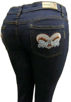 63780dd7bef Womens Omega Skinny Stretch Jeans Love Peace Dove 12 13   Want to know  more