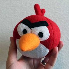 Download Angry Birds Red Bird Sewing Pattern (FREE)