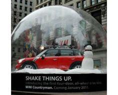 mini cooper snow globes/NYC