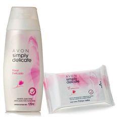 Imagem para Kit Simply Delicate Sabonete Liquido + Lenços Umedecidos                                                                        a partir de Avon Campanha 06