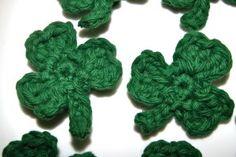 free shamrock crochet pattern from stitch4ever