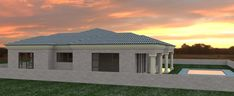 House Plans In Botswana - Do you know House Plans In Botswana is most likely the most popular topics on this category? Thats why we are presenting thi. Free House Plans, Small House Floor Plans, Modern House Plans, Flat Roof House Designs, African House, Tuscan House, Bedroom House Plans, Open Plan Living, Image House