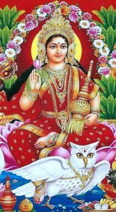 Lakshmi, Generous Goddess of Prosperity Saraswati Goddess, Indian Goddess, Mother Goddess, Goddess Lakshmi, Hindu Shiva, Hindu Deities, Hindu Art, Hare Krishna, Krishna Art