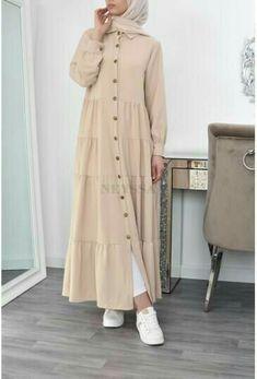 Long Skirt Fashion, Modest Fashion Hijab, Abaya Fashion, Muslim Women Fashion, Islamic Fashion, Mode Abaya, Mode Hijab, Girls Dresses Sewing, Modest Dresses