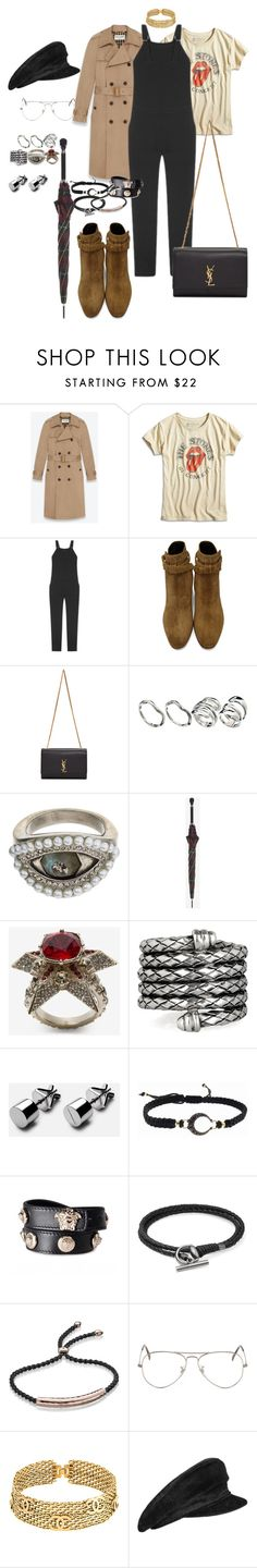 """""""Untitled #286"""" by veronice-lopez ❤ liked on Polyvore featuring Yves Saint Laurent, Lucky Brand, Nomia, ASOS, Alexander McQueen, Bottega Veneta, mizuki, Versace, Gucci and Monica Vinader"""