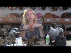 How to Use Swax by Sarafina Fiber Art - YouTube