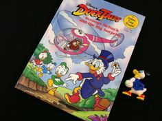 Ducktales Book and Scrooge McDuck PVC Figure by modernnostalgic, $6.50