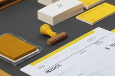 BRANDING / Invoice — Designspiration