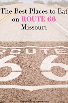 If you are taking a road trip across the country on the famous route 66, you are going to need great restaurants ideas to eat at on the trip. when in Missouri by the army base fort leonard wood, you will have plenty one of a kind options. #roadtrip #route66 #missouri #newmexico #attractions #arizona