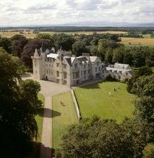 Brodie Castle ~ so fun to take my son (Brodie) to this castle last year!