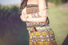 Smilingischic outfit stile navajo bracciale di perline