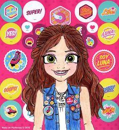 Luna @karolsevillaofc I love you Karol!!! I hope you like this drawing…