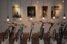 Merci, Concept Store, bicycles @ Paris Bike Shops, Bicycle Store, Bicycle Design, Shop Ideas, Bicycles, Curb Appeal, Studios, Houses, Concept