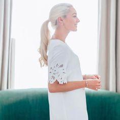 Fashion blogger Fashion Mumblr styling our Cutwork Detail Tunic