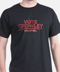 Supernatural Vote Crowley T-Shirt for