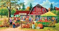 Harvest Market a 500-Piece Jigsaw Puzzle by Sunsout Inc. New in Toys & Hobbies, Puzzles, Contemporary Puzzles | eBay