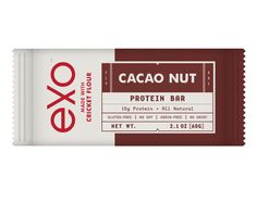 Cacao Nut Protein Bar - made with crickets @funaek