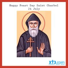 Happy Feast Day to Saint Charbel a Maronite Monk who has had many miracles attributed to his intervention.