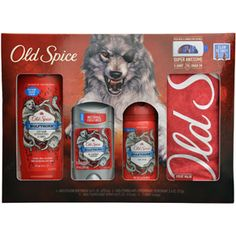 Old Spice Wolfthorn Wild Collection Set, 5 pc Gift for the bf?