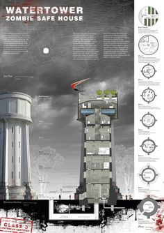 Water Tower Zombie Safe House!!