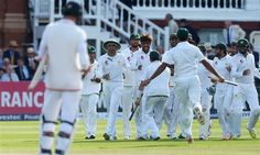 Pakistan beat England in 1st test
