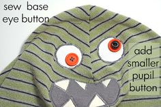 Running With Scissors: Monster Snow Hats: Rounded Horns