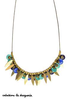 Vous cherchiez un collier pour être à la mode cet été ? on a trouvé !! #ladroguerie #collier #bijoux