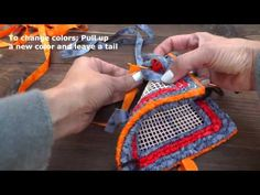 Locker Hooking For Beginners - HowToGetCreative.com with Barb Owen - YouTube